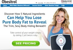 Official website of Obesitrol