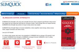 website for SlimQuick