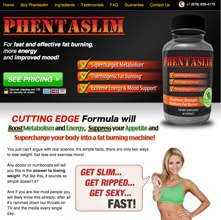 Phentaslim website