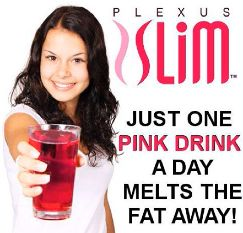 pink drink advert