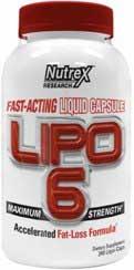 Lipo6 original liquid capsule