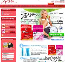 Zotrim Australia website