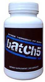 Batch5 Thermogenic fat burner