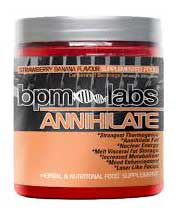 Annihilate fat burner how does it work